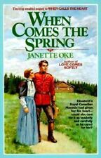 When Comes the Spring The Canadian West series Book 2 Janette Oke FREE SHIPPING