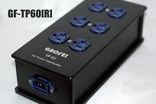 Gaofei HIFI TP60R US AC Power Distributor 6 Outlet Rhodium Receptacles socket