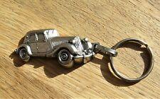 Ancien porte clé CITROEN  garage Sogame Melun Traction Avant relief 3D. DS, ID.