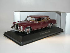 Premium Collectibles/IXO B66041019, Mercedes-Benz 600, 1963, barolorot, 1/43