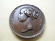 Médaille exposition universelle 1855  Napoléon III  Eugénie Massonnet ,Caqué .F