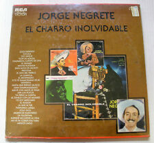 JORGE NEGRETE el charro inolvidable 3LP 1978 RCA Mexico MKLA-133 FACTORY SEALED