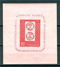 ROMANIA 1958 STAMP ON STAMP CENTENARY IMPER MNH