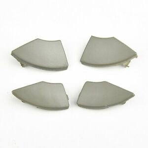 For Fiat 500 Radio Cd Button Trim Mold Cover Removal 4pcs/Set Accessories