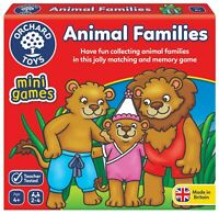 Animal Families Mini Game by Orchard Toys 4+