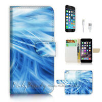 ( For iPhone 7 ) Wallet Case Cover P2624 Abstract