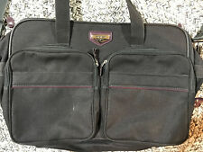 """American Tourister Black Carry-On Shoulder Travel Overnight Bag 20"""" x 13"""" x 8"""""""