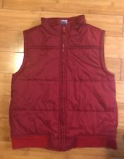 ☀�Boys Gymboree☀�Maroon Zip Vest, Size 7-8, Spotless / Pre Owned Yet Never Worn