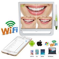New Listingwireless Usb Oral Dental Wifi Intraoral Camera 6 Led 17 Monitor For Phone Amp Pc