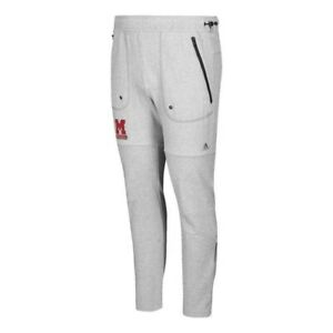 Miami RedHawks NCAA Men's Grey Phys Ed Coach Vault French Terry Jogger Pants
