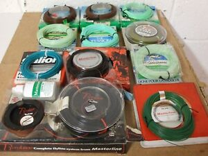 11 off Rare new unused Trout / Salmon fly lines in original boxes.***UNIQUE ***