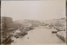 France, Brest, l'Arsenal, Marine Française  Vintage citrate print Tir