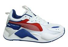 Puma RS-X Festplatte Kids Weiß Niedrig Schnüren Junior Running Sneaker 370644 03