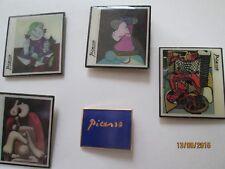 LOT DE 5  PINS PICASSO  édités en 1992 par la Spadem