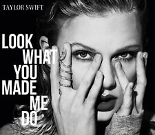 TAYLOR SWIFT - LOOK WHAT YOU MADE ME DO (2-TRACK)   CD SINGLE NEW+