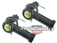 Holden Tie Rod End R/H PAIR HQ HJ HX HZ WB SPECIAL Fix Drag Link Clearance / Hit