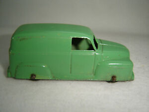 Vintage Tootsietoy Panel Delivery Van - Chevy - Die Cast Metal - Made In USA
