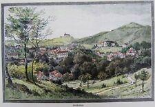 Gleichenberg, Hugo Darnaut,  Steiermark, historische Ansicht von 1890
