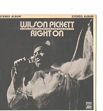 WILSON PICKETT--PROMO ONLY-5-SONG PAPER -EP--(RIGHT ON)--PS--PIC--SLV