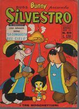 BUGS BUNNY PRESENTA SILVESTRO N. 59 DEL '71 - CON INSERTO LA CONQUISTA DEL CIELO