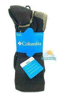 Columbia Men's 3 Pair Pack Crew Socks