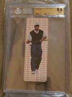 1997 TIGER WOODS ROOKIE Card Awesome Athletes Bookmarks BGS 9.5 GEM MINT 10 CEN