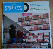 The Sights ‎– Sticks And Stones - Cass Records MAMA 009 - (USA 2005)