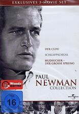 DVD-BOX - Paul Newman Collection - 3 Filme - Der Clou, Hudsucker u.a.