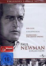 DVD-BOX - Paul Newman Collection - 3 Filme - Der Clou, Hudsucker u.a.