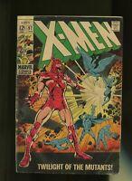 X-Men #52, GD+ 2.5; Cyclops, Marvel Girl, Mesmero