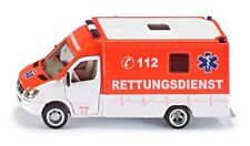 Siku bombero ambulancia rojo escala 1 50