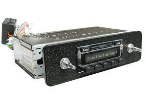 NEW VW Beetle Bus Ghia AM FM AUX USB MP3 300 watt Vintage Look iPod ready Radio
