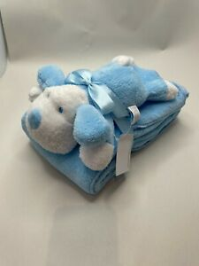 Comforter blanket baby wrap toy childrens toy set velour plush gift newborn bear