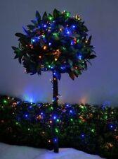 50 x LED Solar Betrieben Garten Party Weihnachten Lichterketten Innen Außen