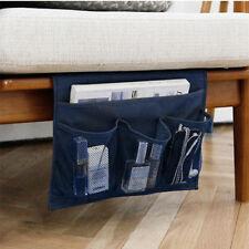 Sofa Side Storage Organizer Hanging Bag Chair TV RC Holder Magazine Book Caddy