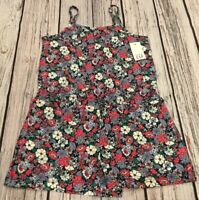 Baby Gap Girls Size 2 / 2T Shorts Romper. Floral Shorts Jumpsuit. Nwt