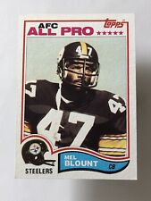1982 TOPPS MEL BLOUNT ALL PRO PITTSBURGH STEELERS #203 Football Card Southern