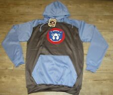 Majestic Chicago Cubs Thermabase Cooperstown Twill Hoodie Jacket size Men's XLT