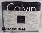 Calvin Klein Home Modern Cotton Body Strata KING Duvet Cover Marble