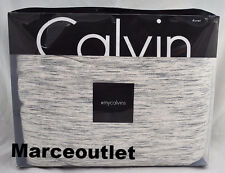 Calvin Klein Home Modern Cotton Body Strata KING Duvet Cover Marble