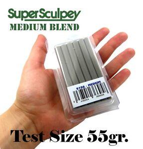Super Sculpey Medium Blend - 55 gr - Polymer clay sculpting putty - TEST FORMAT