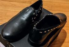 "$795 Mens Giuseppe Zanotti ""Gordon Flash"" Studded Leather Loafers Black 44 US 11"