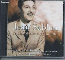 Jean SABLON Le Chanteur de Charme 2 CD NEUFsous blister