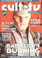 CULT TV MAGAZINE - COMPLETE PDF DOWNLOAD inc SAMPLE ISSUE plus FREE CD