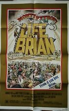 "Life of Brian (1979) ORIGINAL Monty Python Movie Poster / Style ""B"" / SMUDGED"