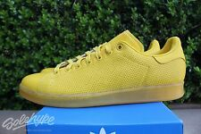 ADIDAS ORIGINALS STAN SMITH ADICOLOR SZ 10 MULTI YELLOW MUSTARD S80247