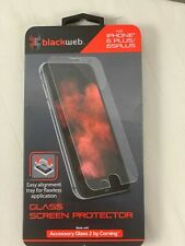 Blackweb Glass Screen Protector for iPhone 6 Plus/6s Accessory Glass 2 Corning