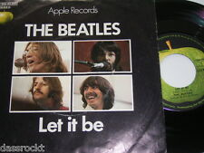 "7"" - Beatles / Let it be & You know my Name - 1970 First Press # 3755"