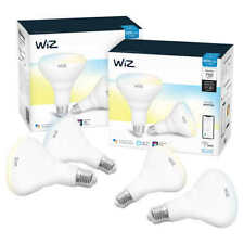 WiZ WiFi BR30 Smart Bulb White 4-Pack ** FREE SHIPPING **