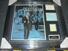 CLIFF RICHARD and the SHADOWS Signed Montage AFTAL